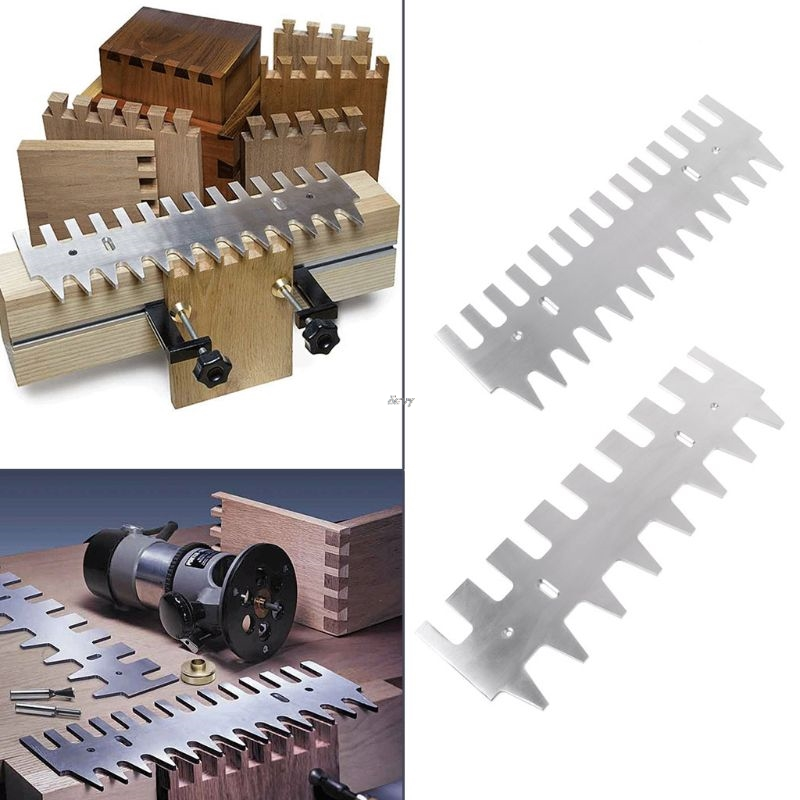 Dovetail Template 1 4 Shank Bit Guide Bushing 15 16 Aluminum Alloy Drawers Accessories