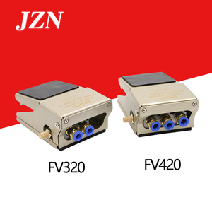 Image 2 - Pneumatic foot valve foot switch FV320 two position four or five through FV420 cylinder reversing controller blow dust valve