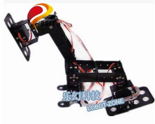 ФОТО Official DOIT 6DOF Biped Walking Robot Loop to Loop Walking Game Dedicated Full set of Steering Gear Bracket