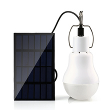 Holigoo 15W 130LM Solar Lamp Portable Led Light Bulb Solar Light Energy Led Lighting Solar Panel