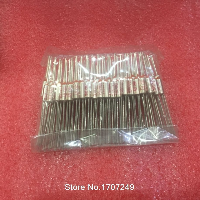 Free Shipping RY 100pcs Lot New Micro Thermal Fuse 10A 250V 92 Degrees Tf