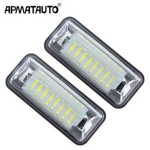 2Pcs white LED License Number Plate Light Replacment For Subaru Forester Impreza Legacy BRZ WRX XV Crosstrek TOYOTA FT86 GT86