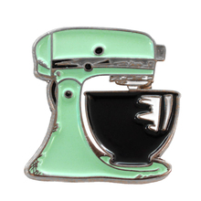 Mint Green Kitchen Mixer Enamel Pin Kitchen Mixer Badge Brooch