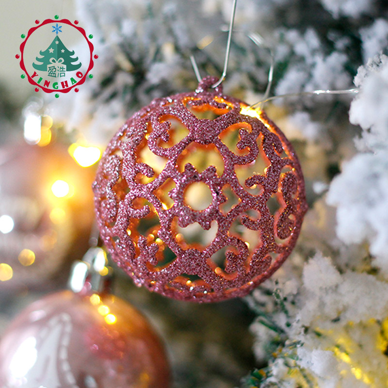 inhoo 2017 christmas tree decoration ball ornaments pendant accessories 20pcs silver powder ball decor for christmas home party in ball ornaments from home - Christmas Tree Accessories