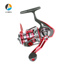 AI-SHOUYUNew Spinning Fishing Reel Max Drag 6kg 5.1:1 Full Metal Fishing Reel 2000/3000/4000/5000/6000 11+1BB Carp Fishing Reel new ryobi accurist 2000 3000 4000 fishing spinning reel 4 1bb 3kg 5kg max drag reels fishing wheels metal spool saltwater