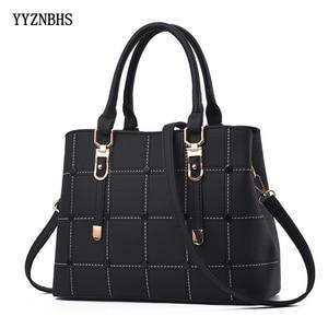 Image 1 - Luxury Handbags Women Bags Designer PU Leather Casual Tote Bag Ladies Hand Bags Women Shoulder Messenger Bag Sac A Main Femme