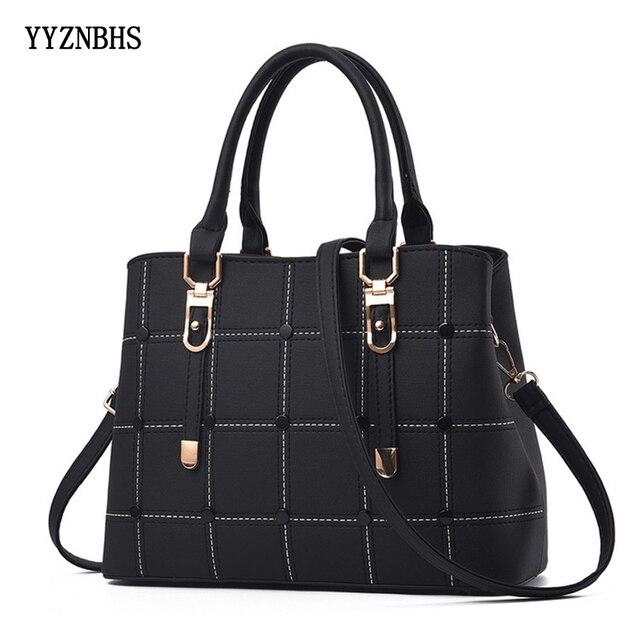 Luxury Handbags Women Bags Designer PU Leather Casual Tote Bag Ladies Hand Bags Women Shoulder Messenger Bag Sac A Main Femme