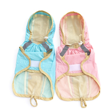 100% Waterproof Dog Raincoats Strip