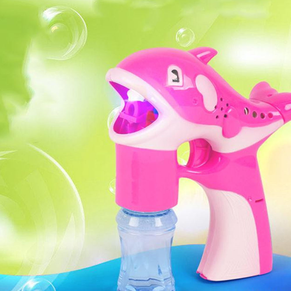 HIINST-Baby-Kids-Bubbles-Toys-LED-Dolphin-Music-Lamp-Light-Cartoon-Cute-Animal-Automatic-Soap-Water-Toys-Drop-Ship-Oct11-2