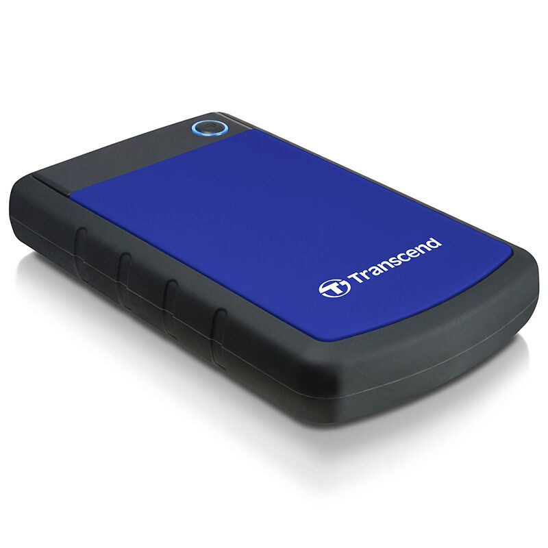 "Transcend StoreJet 25H3 1TB External Hard Drive 2.5"" High Speed USB 3.0 HDD Hard Disk Desktop Laptop Storage Devices HD Disk 1TB"