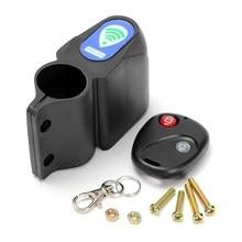 Wireless Remote Control Anti-theft MTB Cycling Security Audible Sound Lock Guard Bike Bicycle Alarm Siren Shock Vibration Sensor