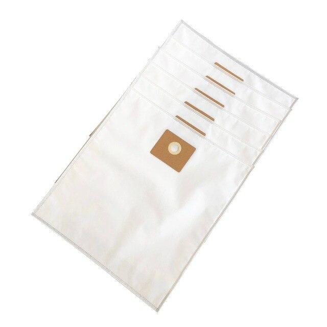 Cleanfairy 6Pcsถุงสูญญากาศใช้งานร่วมกับNILFISK MULTI II 30/22 30Lกรองขนแกะกระเป๋าสำหรับส่วน #107417195