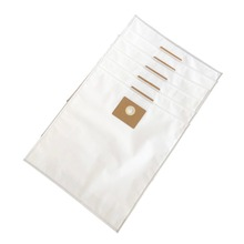 Cleanfairy 6pcs vacuum bags compatible with NILFISK MULTI II 30/22 30L Fleece Filter Bag replacement for part#107417195