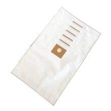 Cleanfairy bolsas de vacío compatibles con NILFISK MULTI II 30/22 30L, repuesto de bolsas de filtro polar para la parte #107417195, 6 uds.
