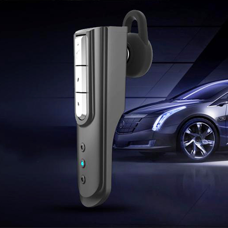 Mini Stereo Car Bluetooth Headset Wireless Earphone Blue Tooth Handsfree Car kit Headphone with Base Charging Dock for Phone original remax 2in1 mini bluetooth headphones usb car charger dock wireless car headset bluetooth earphone for smartphones