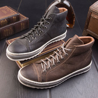 Daviko 2017 New Style Top Quality Popular Lace Up Brand Men Shoes Men Genuine Leather Shoes