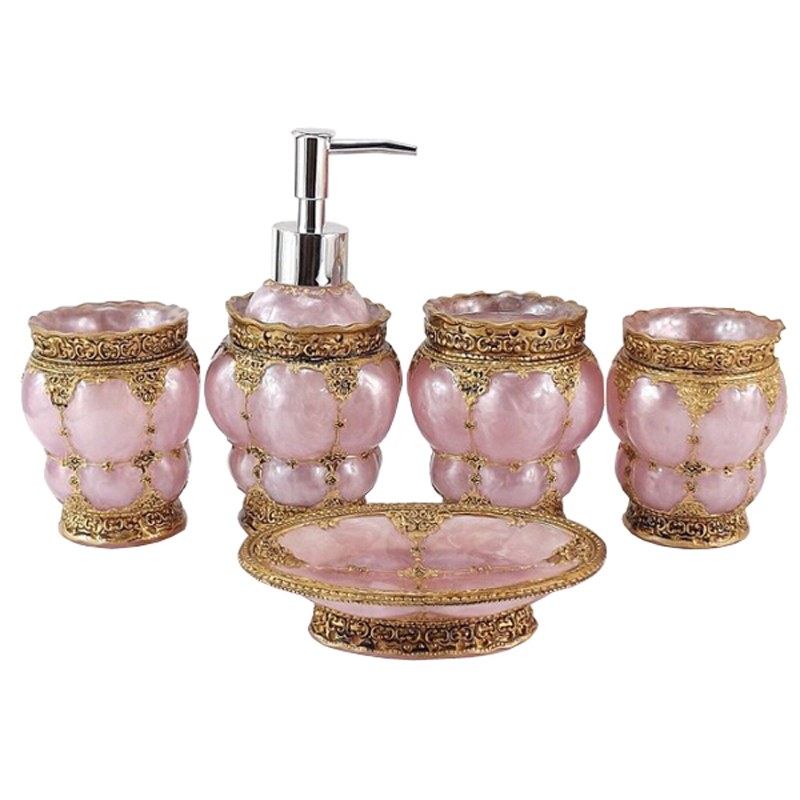 High Quality Delicate Elegant Bathroom Accessories Set