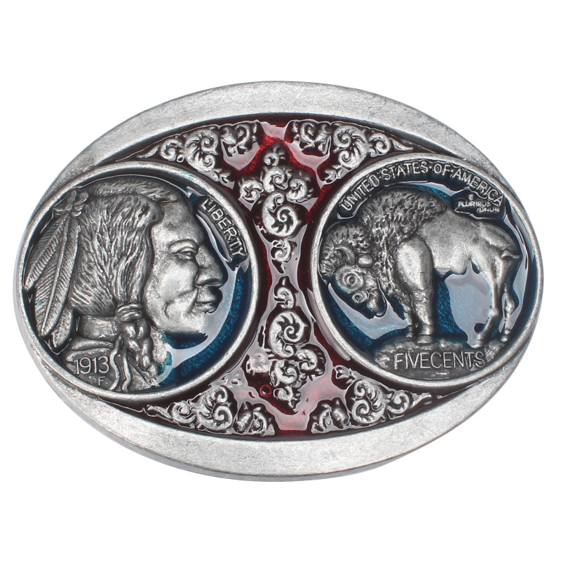 Europe And The United States Western Style  Belt Buckle