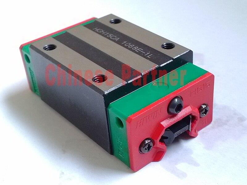 Free shipping 1pc 100 new original linear guide block hgh15ca original hiwin