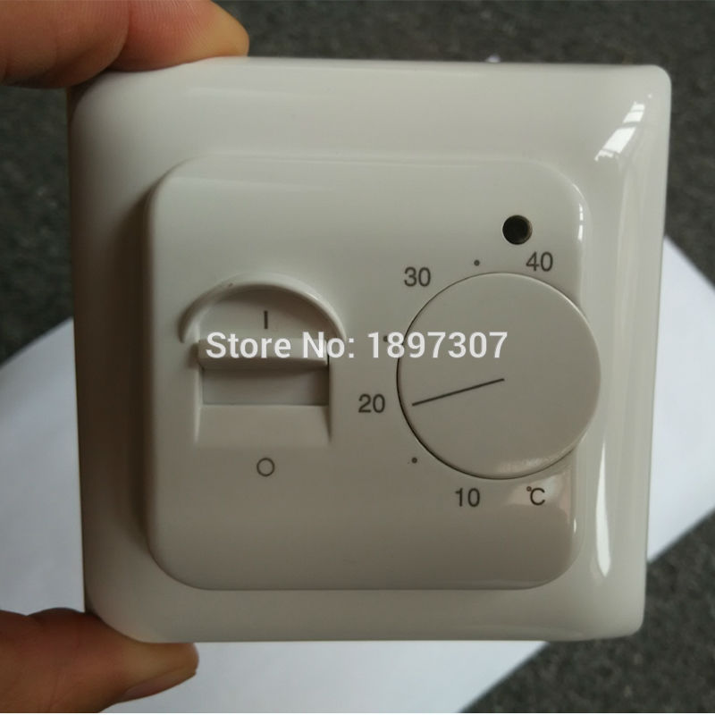 RTC70.26 New 230V AC 16A Universal Electronic Underfloor Heating Thermostat Regulator 5~40 Room Warm Temperature Controller
