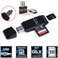 Confiável mini usb 5 super speed 5gbps 3.0 + otg micro sd/sdxc tf adaptador leitor de cartão de disco de u