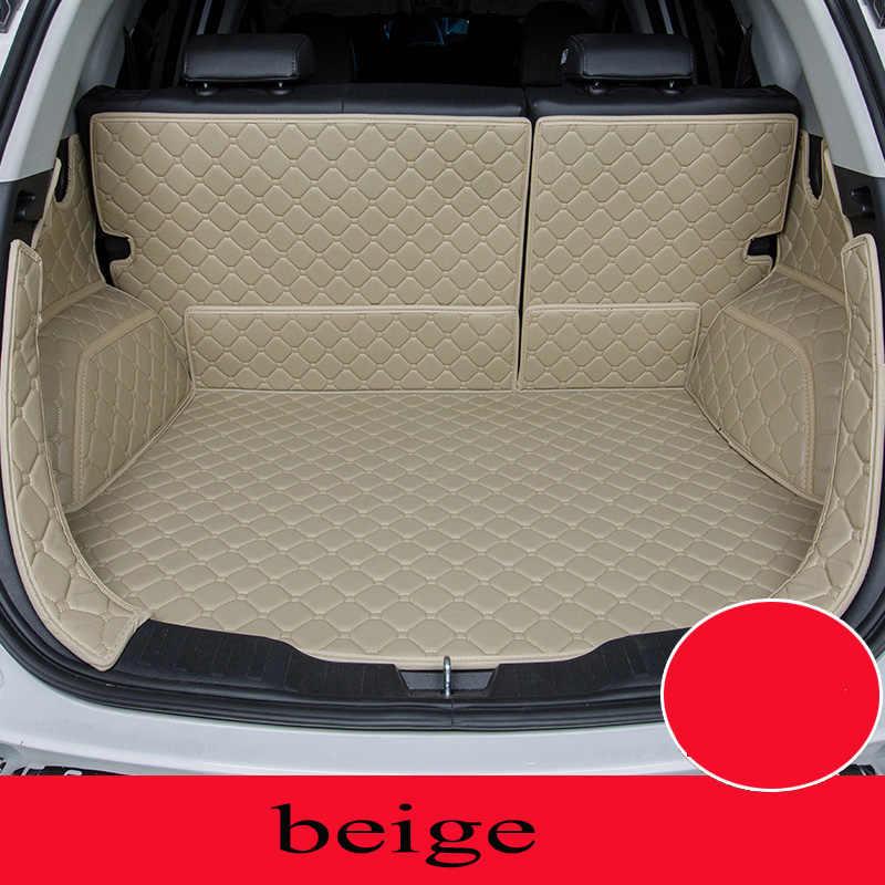 Custom auto mat kofferbak voor Mazda Alle Modellen Mazda 3 6 cx-5 cx-7 auto styling auto accessoires custom cargo liner