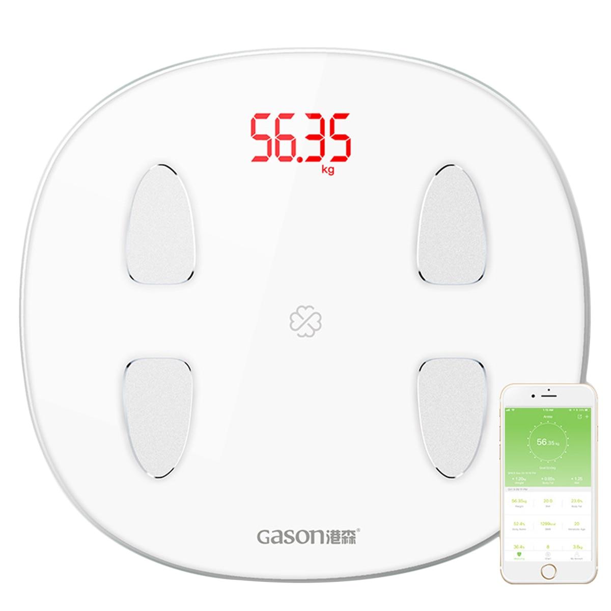1 шт. весовые весы утилита портативные Bluetooth Stalinite Электронные цифровые весы для домашнего веса ing здоровья - 5