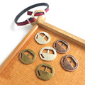 10pcs Fashion Jewelry Antique Silver/Copper/Bronze Clasps for 5mm Flat Leather Cord Bracelets & Bangles Jewelry Making