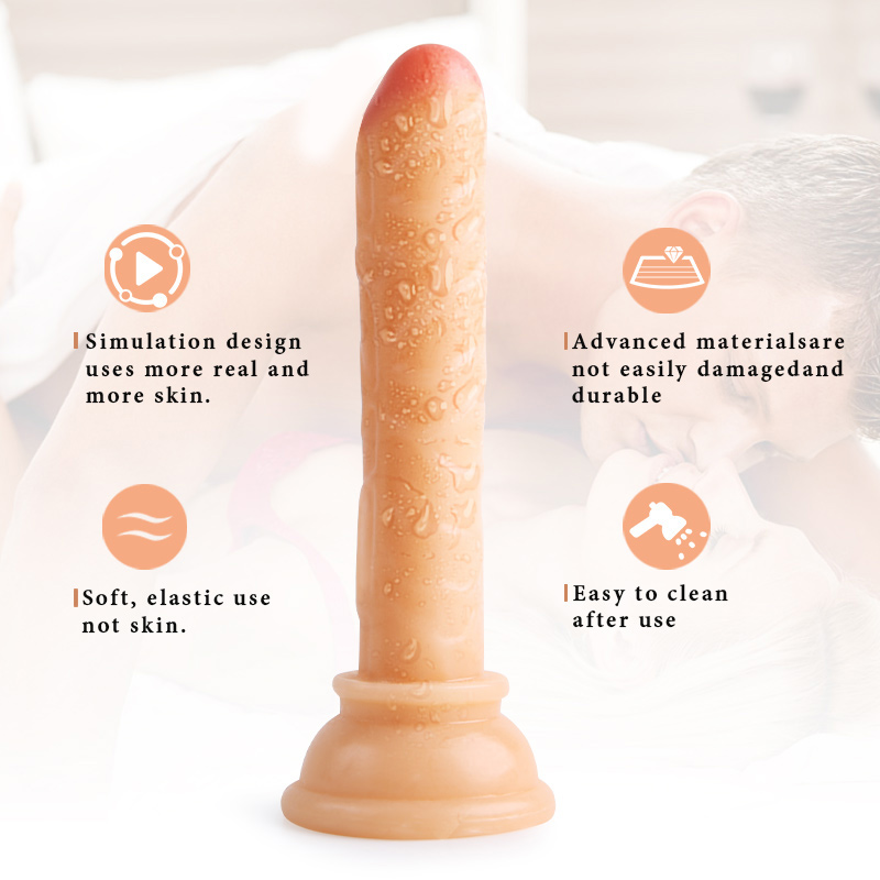 Realistic Dildo sex toys for women G spot Vibrator Massager Crystal Dildo Strong Suction Cup Artificial Penis Anal Butt Plug toy in Vibrators from Beauty Health