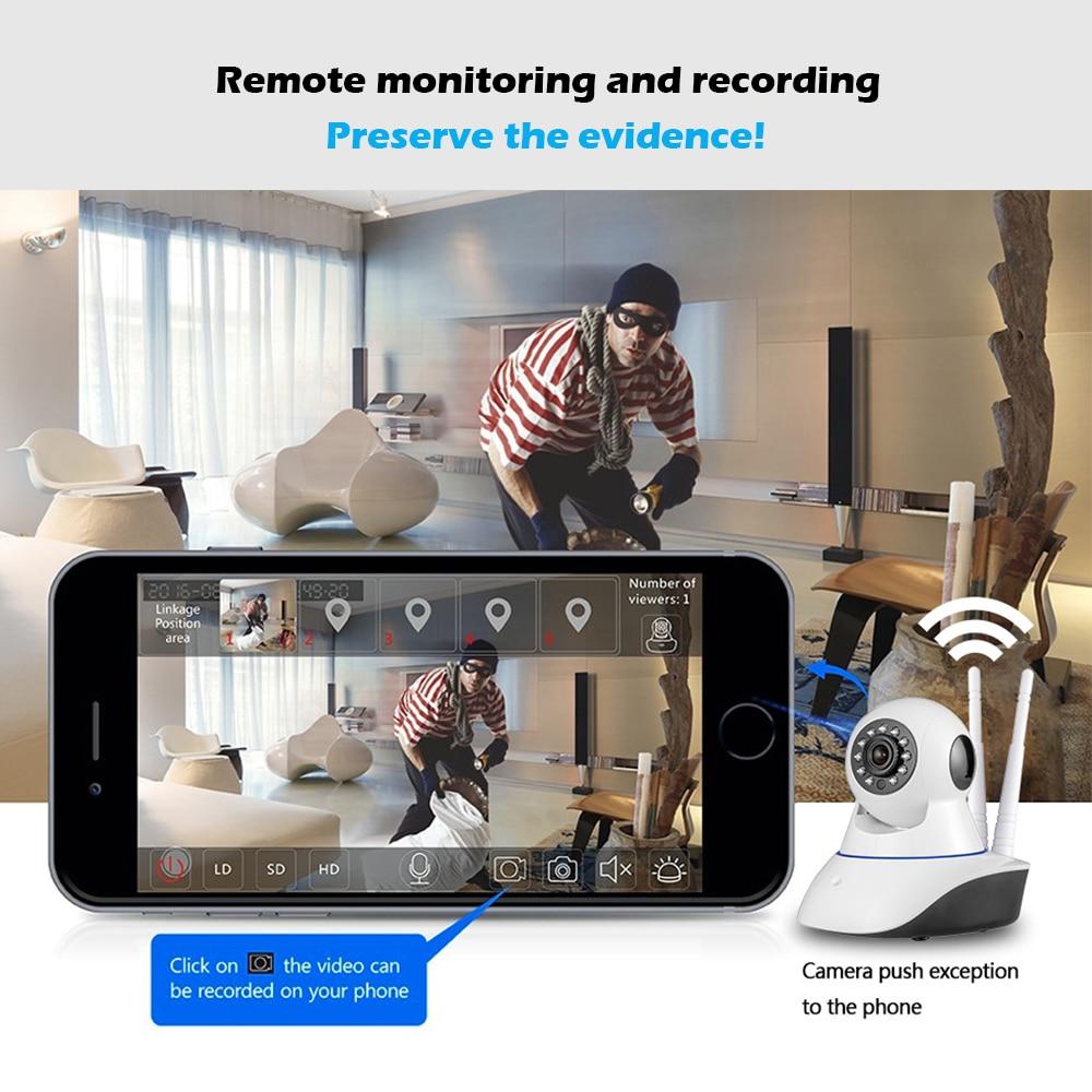 KERUI Trådlös WiFi HD IP-kamera GSM Hemsäkerhetslarm Kamera - Säkerhet och skydd - Foto 2