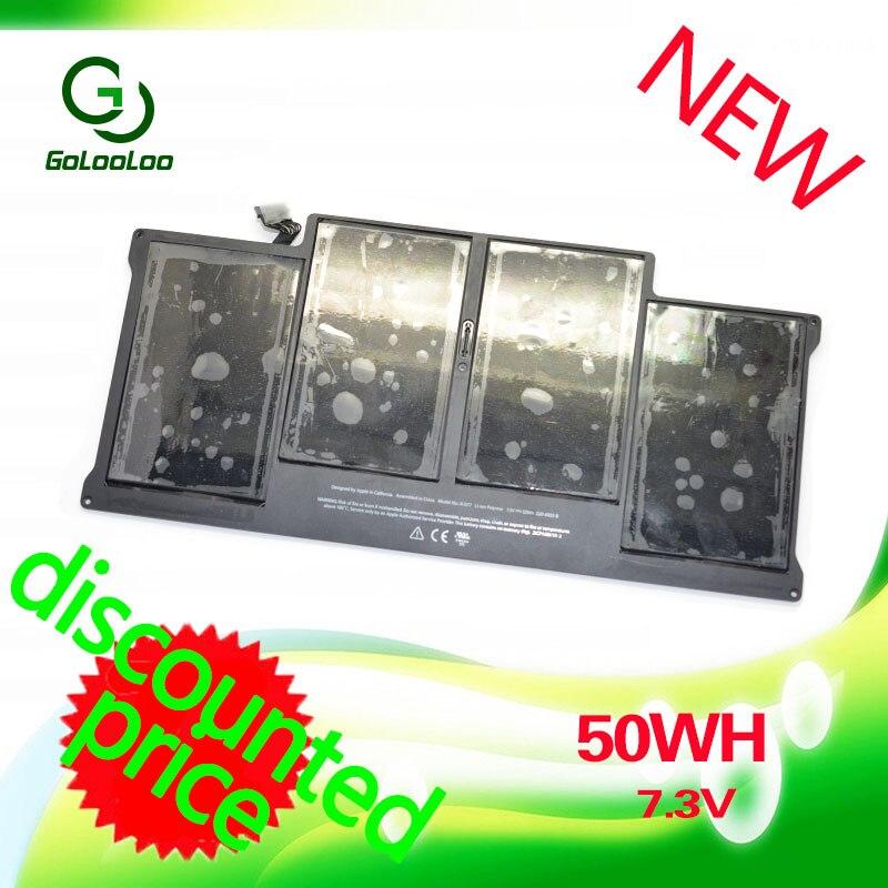 Golooloo 7.3 V 50WH batterie d'ordinateur portable pour Apple Macbook Air 13