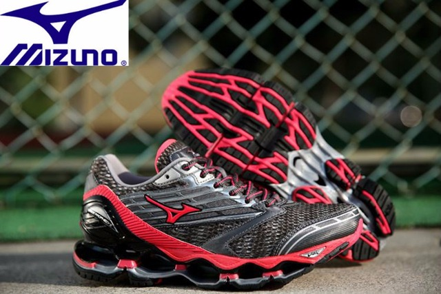 78ecf5c9d65 Mizuno Wave PROPHECY 5 Professional Women Shoes Running Shoes Sport  Sneakers Weightlifting Shoes Mesh ventilation Size