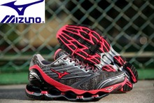 Mizuno Wave PROPHECY 5 Professional Women Shoes Running Shoes Sport Sneakers Weightlifting Shoes Mesh ventilation Size 36-41