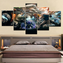 5 pieces canvas print poster wall decoration wall photo print modern Game DOTA Character oil painting picture frame artwork свитшот print bar dota blood