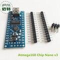 Nano V3 ATmega168, CH340, mini USB, compatível para Arduino Nano V3.0