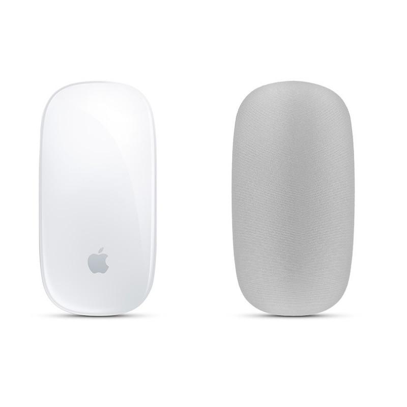 1 шт., мягкая кожа, защита от пыли и царапин, эластичная ткань для MAC, Apple, Magic mouse, защитный чехол для хранения LA008