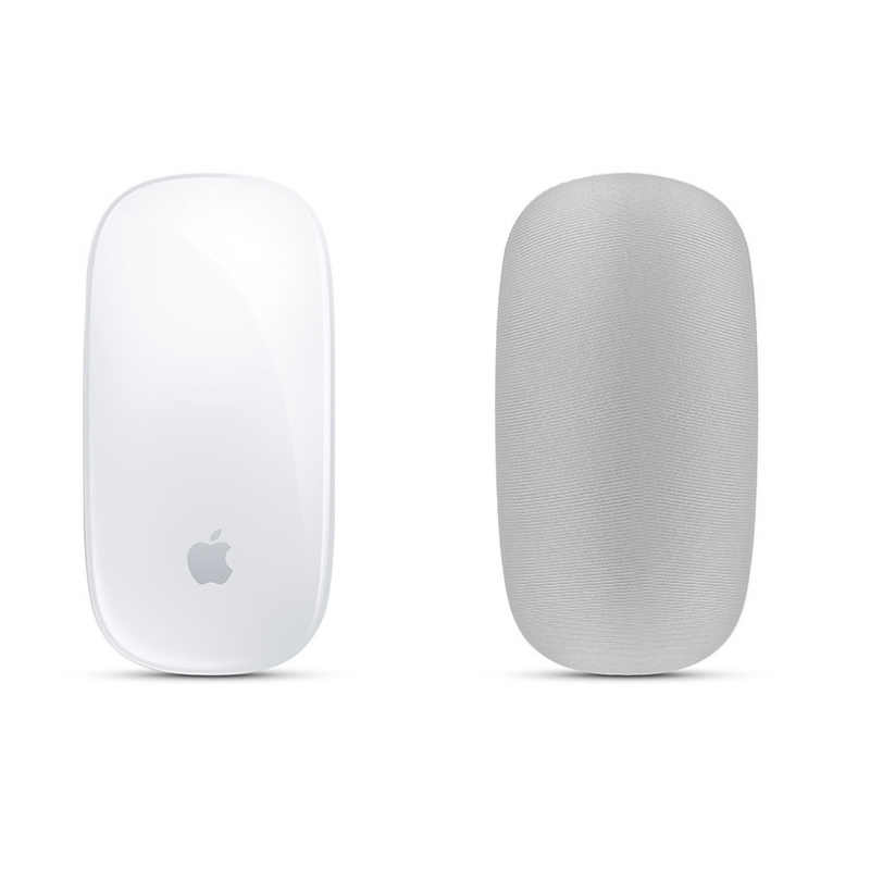 1pcs นุ่ม DUST Scratch PROOF COVER ผ้ายืดหยุ่นสำหรับ MAC Apple Magic Mouse Storage Case LA008