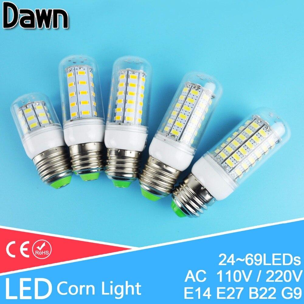 ᗕВысокая Мощность светодиодные лампы кукурузы лампы 220 В 110 В LED ...