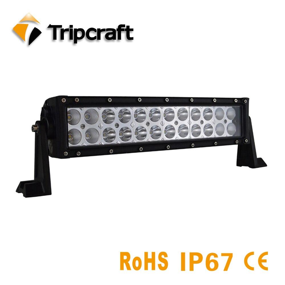 TRIPCRAFT 13,5 72 Вт светодиодный свет работы бар для Off Road Грузовик 4x4 внедорожник автомобиля 4WD rampe epistar комбо луч авто для вождения противотуманны...