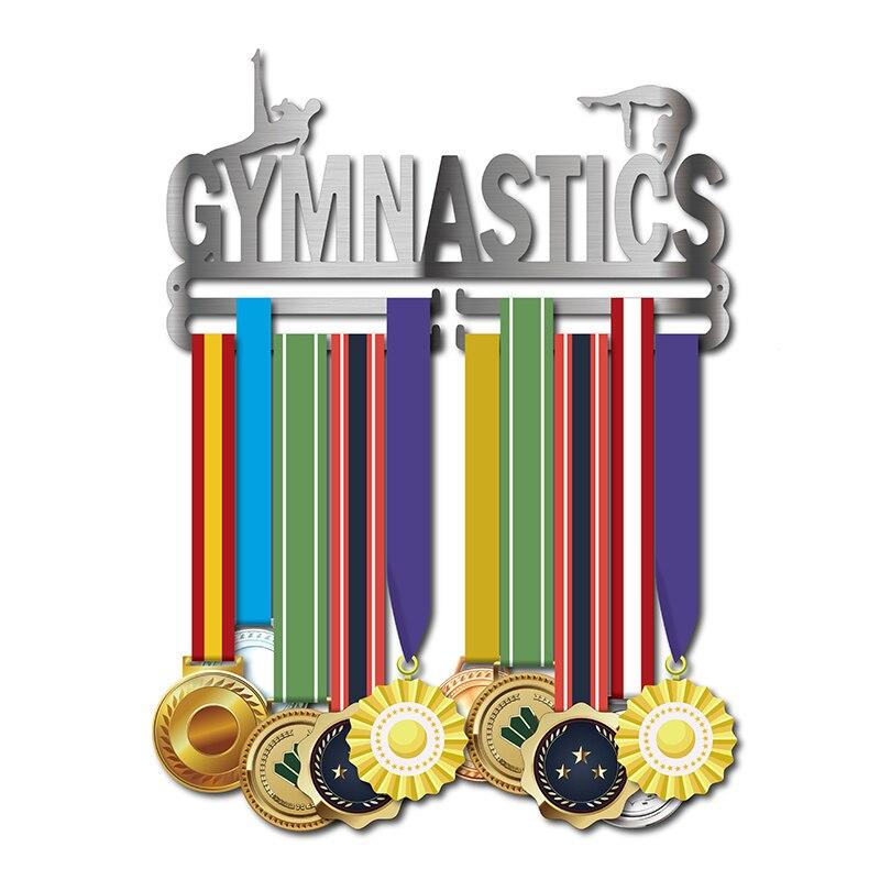 Medalha de cabide para ginástica display rack Esporte medalha Medalha medalha de aço inoxidável cabide titular