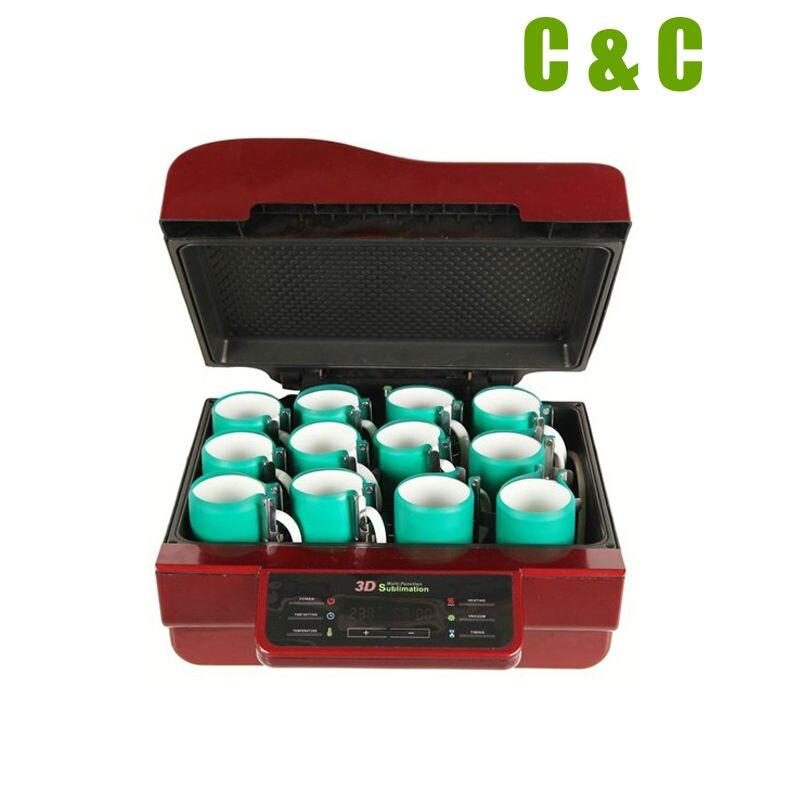 3D Heat Press Machine Vacuum Transfer Printing Sublimation Mugs NO.AHP01 Mug Printing Phone Cover Printing
