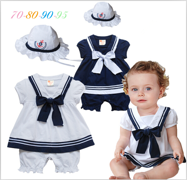 2015 Newborn baby girl clothing set clothes babies jumpsuit bebe infant dress romper + hat suit baby costume roupas bebes newborn baby girl dresses 3pcs clothing sets suit infant romper jumpersuit bebe party wedding costumes vestidos