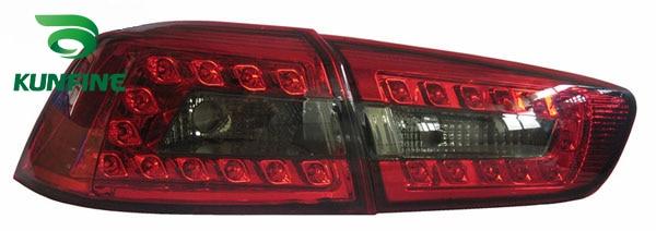 Пара KUNFINE автомобиля задний фонарь для ЛАНСЕРА MITSUBSHI 2010-2016LED стоп-сигнал с поворотом световой сигнал