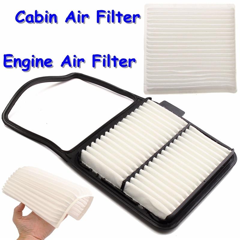 Engine & Cabin Air Filter for Toyota Prius 2004-2009 OE# 17801-21040 87139-47010 Durable Quality недорго, оригинальная цена