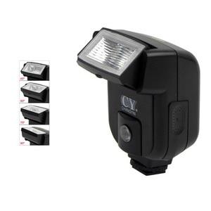 Image 5 - Mini universale fotocamera flash speedlite w/pc sync porta per canon nikon olympus sony a7 a7r a7sii a7ii nex a6000 a6300 A6500