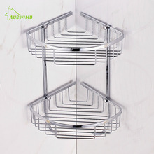 2 Layer SUS 304 Stainless Steel Bathroom Shelf Tripod Bathroom font b Rack b font Basket