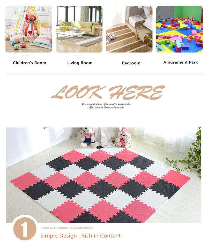HTB1XdmSKeOSBuNjy0Fdq6zDnVXaF 1PC Child Carpet EVA Foam Mat Kids Mat Puzzles Soft Floor Play Mat Toys for Children Jigsaw Mats Baby gym tapete infantil