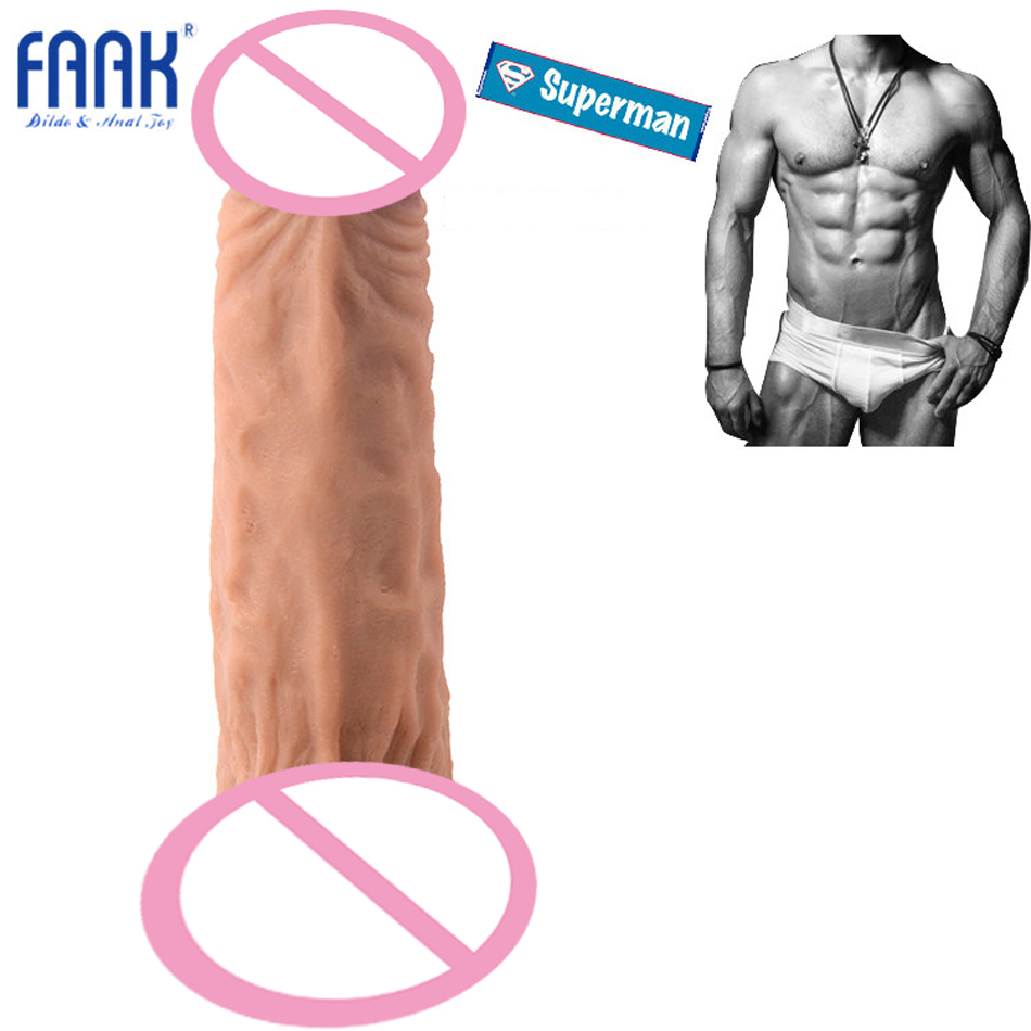 FAAK 28.5cm Length Best Selling Long Realistic Dildo Women And Man Masturbation Sex Toy Huge Dildo Penis With Strong Suction Cup auto handfree retractable piston pricky male masturbation cup for men penis massage aircraft cup passion cup adult sex products