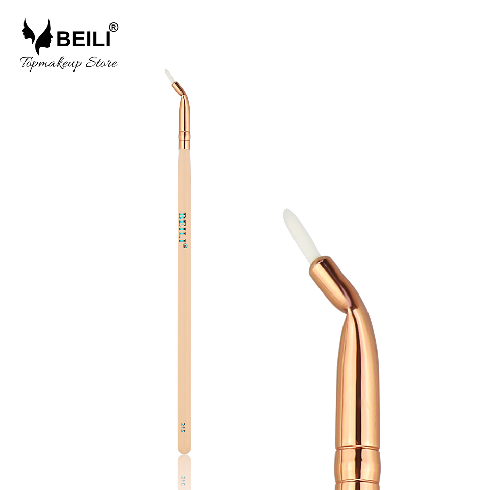 BEILI 315# Pink Handle Luxe Rose Golden Ferrule Eyeliner Makeup Brush кто мы жили были славяне