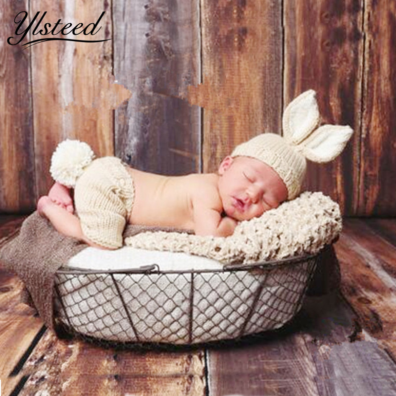 Beanie Baby Photo Props Wear Wool Suit Newborn Infant Baby Costumes Unisex Baby Knit Hat Roupas Infantis Children Winter Hat